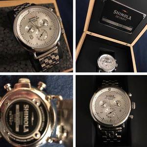 Shinola Mens Stainless watch